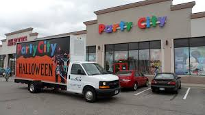 party city halloween 2014 party city mobile billboard minneapolis and st paul minnesota