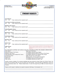party planner contract template forms
