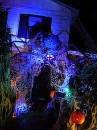 halloween light shows mitchell halloween 2014