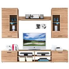 Wohnzimmerm El In Ahorn Wohnwände Günstig Online Kaufen Möbel Boss