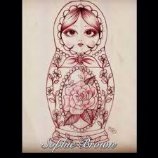 31 best russian doll tattoo images on pinterest russian doll