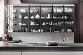 contemporary china cabinet glass aluminum glass wall units