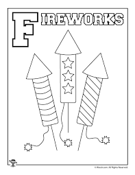 f is for fireworks woo jr kids activities