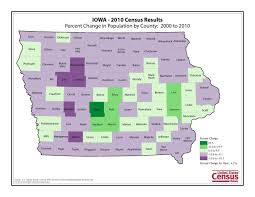 Iowa Map With Cities Eleven Maps That Explain Iowa