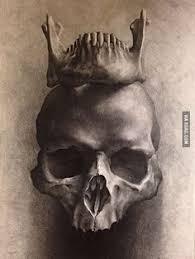 zentangle stylized mutton sheep skull for tattoo t shirt stock