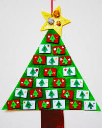 create an advent countdown tree activity education