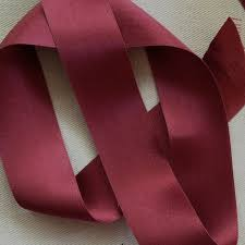 silk satin ribbon burgundy silk satin ribbon 36mm 1 1 2 renaissance