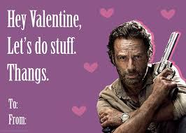 Walking Dead Valentines Day Meme - walking dead valentine s day cards 1 fangirlie ness