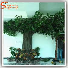 size artificial trees outdoor artificial trees