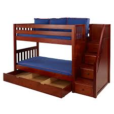 Kids Bunk Beds Toronto by Boys Beds Bedroom Furniture Maxtrix Kids Calgary Play Bunk With