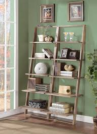 furniture cheap leaning bookcase ideas enticing leaning