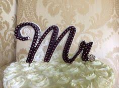 pearl monogram cake topper custom monogram pearl cake topper by thecrystalflower the