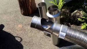 chimney liners stainless steel components flexible kit wood stoves