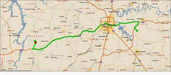 Tennessee Highway Map by Roving Reports By Doug P 2014 18 Hurricane Mills And Land Between