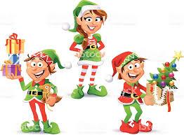 christmas elves christmas elves stock vector 167589572 istock
