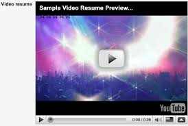 Sample Video Resume by Multiple Resumes Document Files Video Jobmount