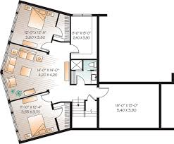 rear view house plans contemporary plan with great rear view 21855dr architectural
