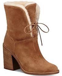 s ugg lace up boots ugg macy s