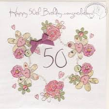 50 birthday card handmade 50th birthday card karenza paperie