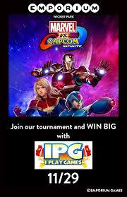 thanksgiving throwdown ii marvel vs capcom infinite tournament