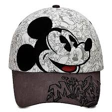 your wdw store disney baseball cap hat sketch mickey mouse