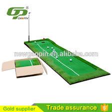 mini golf de bureau haute qualité mini golf putting green de golf portable vert bureau