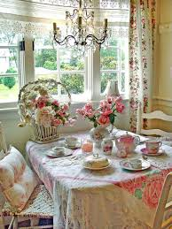 shabby chic decor vintage china table settings and shabby