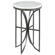 White Accent Table by Small Round Accent Table With Marble Top By Hammary Wolf And