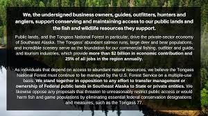 Publiclands Org Washington by Public Lands Sign On Supporters America U0027s Salmon Forest