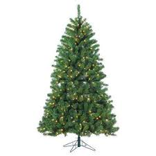 lighted christmas tree pre lit christmas trees artificial christmas trees the home depot