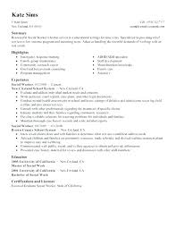 social worker resume template social work resume template demonow info