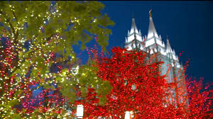 temple square lights 2017 schedule christmas lights turned on at temple square to the delight of