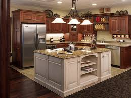 diy kitchen cabinets ideas black granite countertop polished beige