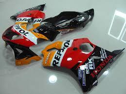 motocc limited honda cbr600f 99 00 repsol fairing kit