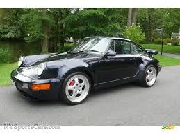 porsche 911 turbo sale 1994 porsche 911 turbo 3 6 s in midnight blue metallic 480448