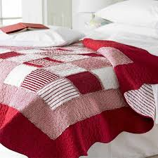 Red And Cream Duvet Cover Breathtaking Red And White Checkered Bedding 85 With Additional
