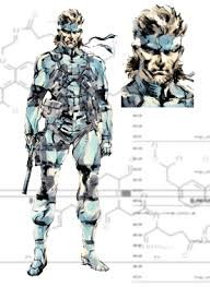 metal gear solid 2 characters
