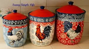 rooster kitchen canisters i d these for my future kitchen kitchen canisters chicken