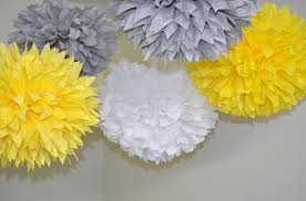 yellow and gray baby shower decorations elephant baby shower decorations yellow bridal shower