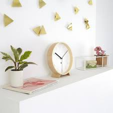 confetti triangles brass wall decor umbra design is this