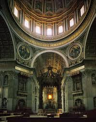 baldacchino by bernini gian lorenzo bernini baldacchino at st s basilica 1633