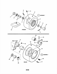 snapper riding lawn mower parts diagram chentodayinfo