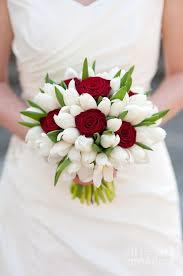 wedding flowers tulips and white tulip wedding bouquet print by avison