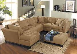sectional living room amazing cindy crawford metropolis sofa with cindy crawford