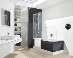 bathroom 2017 jacuzzi tub bathroom in white and black with
