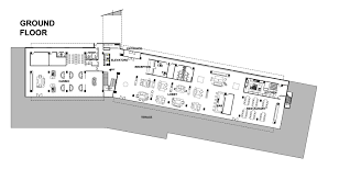 Ground Floor Plan Gallery Of Hotel Kazbeg Goga Chxetia Ia Chekheria Rooms 21