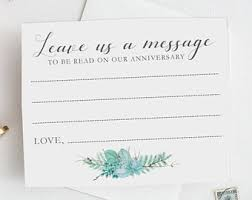 wedding greeting words wedding wish cards etsy