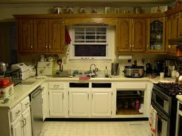 Crackle Kitchen Cabinets Painting Old Kitchen Cabinets