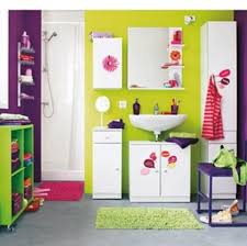 pink and green bathroom ideas