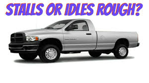 dodge ram idles rough or stalls 1500 2500 3500 youtube
